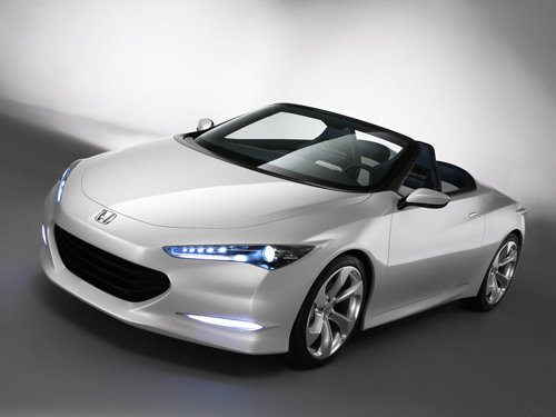 "Honda OSM Concept Car Poster Print on 10 mil Archival Satin Paper 16"" x 12"""