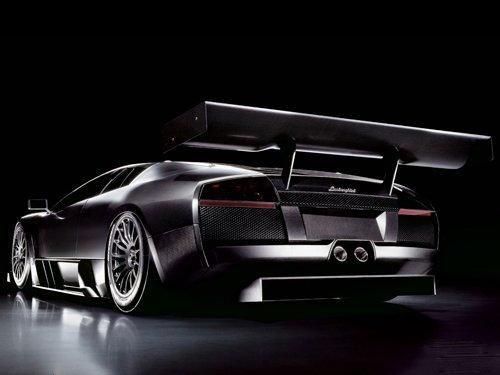 "Lamborghini Murcielago Car Poster Print on 10 mil Archival Satin Paper 16"" x 12"""