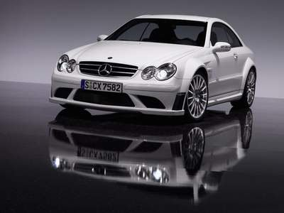 "Mercedes CLK 63 Black Concept Car Poster Print on 10 mil Archival Satin Paper 16"" x 12"""