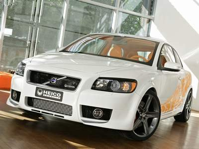"Volvo C30 Heico Concept Car Poster Print on 10 mil Archival Satin Paper 16"" x 12"""