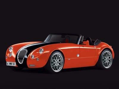 "Wiesmann Roadster 40 Car Poster Print on 10 mil Archival Satin Paper 16"" x 12"""