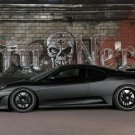 "Ferrari F430 Tu Nero Car Poster Print on 10 mil Archival Satin Paper 16"" x 12"""