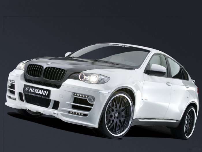 "Hamann BMW X-6 Car Poster Print on 10 mil Archival Satin Paper 16"" x 12"""