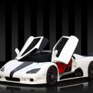 "SCC Ultimate Aero Concept Car Poster Print on 10 mil Archival Satin Paper 16"" x 12"""