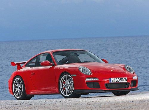 "Porsche 911 GT3 (2010) Car Poster Print on 10 mil Archival Satin Paper 16"" x 12"""
