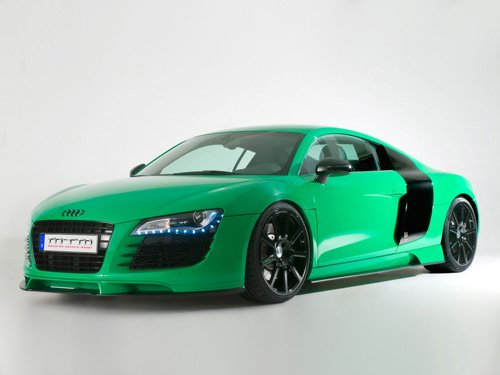 "Audi MTM R8 Concept Car Poster Print on 10 mil Archival Satin Paper 16"" x 12"""