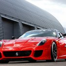 "Ferrari 599XX Car Poster Print on 10 mil Archival Satin Paper 16"" x 12"""