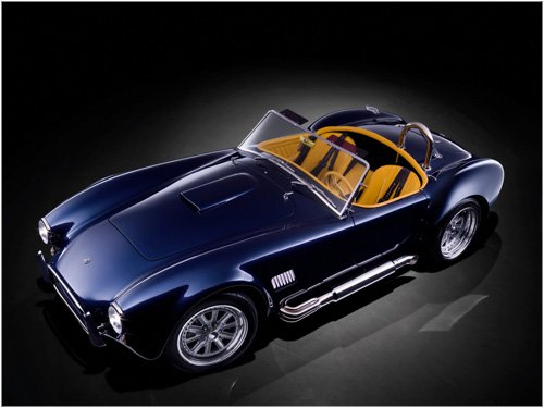 "AC Cobra MK VI Concept Car Poster Print on 10 mil Archival Satin Paper 16"" x 12"""