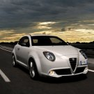 "Alfa Romeo MiTo 1.4 MultiAir Car Poster Print on 10 mil Archival Satin Paper 16"" x 12"""