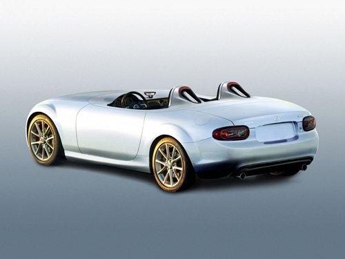 "Mazda MX-5 Superlight Concept Car Poster Print on 10 mil Archival Satin Paper 20"" x 15"""