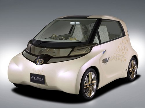 """Toyota FT-EV II Concept Car Poster Print on 10 mil Archival Satin Paper 16"""" X 12"""""""