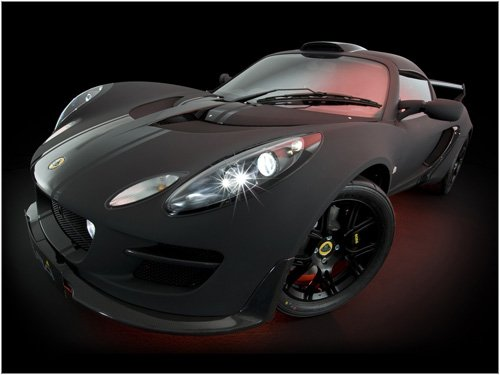 "Lotus Exige Scura Car Poster Print on 10 mil Archival Satin Paper 16"" x 12"""