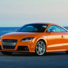 "Audi TTS Coupe Car Poster Print on 10 mil Archival Satin Paper 16"" x 12"""