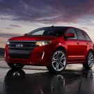 "Ford Edge Sport 2011 Car Poster Print on 10 mil Archival Satin Paper 16"" x 12"""""