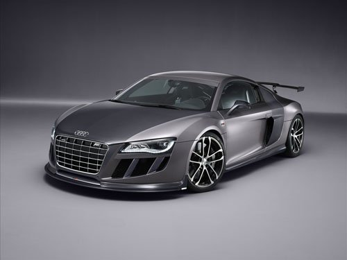 "ABT Audi R8 GTR Car Poster Print on 10 mil Archival Satin Paper 16"" x 12"""