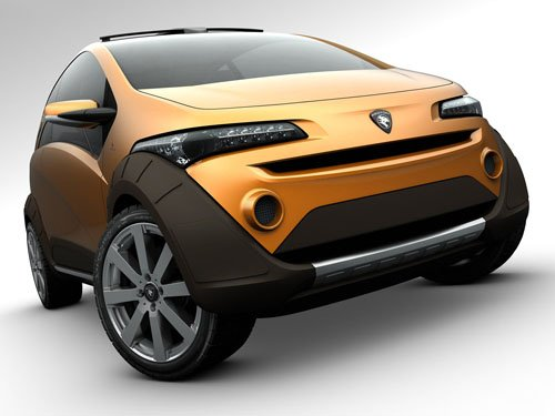 """Italdesign Emas Country (2010) Concept Car Archival Canvas Print (Rolled) 16"""" x 12"""""""