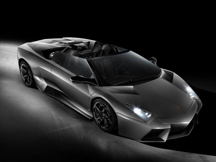 "Lamborghini Reventon Roadster Car Archival Canvas Print (Rolled) 16"" x 12"""