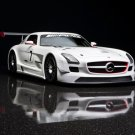 "Mercedes-Benz SLS AMG GT3 Archival Canvas Car Print (Rolled) 16"" x 12"""