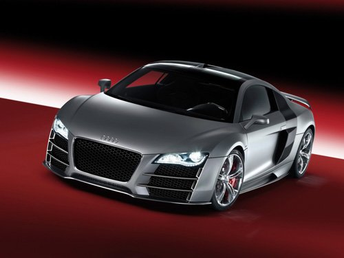 "Audi R8 V12 TDI Car Poster Print on 10 mil Archival Satin Paper 16"" x 12"""