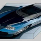 "Bugatti EB 16 4 Veyron Archival Canvas Print (Mounted) 16"" x 12"""