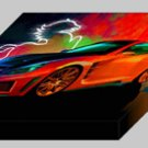 "Carlsson C25 Archival Canvas Car Print (Mounted) 16"" x 12"""
