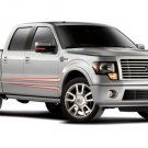 "Ford Harley Davidson F 150 2011 Canvas Truck Print (Rolled) 16"" x 12"""""
