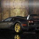"Mansory Bugatti Veyron Linea Vincero dOro Archival Canvas Car Print (Rolled) 16"" x 12"""
