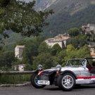 "Caterham Seven Roadsport 125 Monaco Archival Canvas Car Print (Rolled) 16"" x 12"""