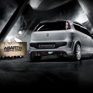 "Fiat Punto Evo Abarth Esseesse Archival Canvas Car Print (Rolled) 16"" x 12"""