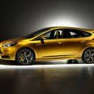 "Ford Focus ST 2012 Archival Canvas Car Print (Rolled) 16"" x 12"""""