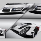 "Audi R8 V10 5.2 FSI quattro 2010 Montage Archival Canvas Car Print (Mounted) 16"" x 12"""