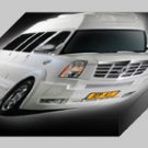 "Depp Auto Tuning Chevrolet Express Platinum Archival Canvas Car Print (Mounted) 16"" x 12"""