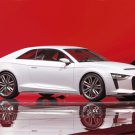 "Audi quattro Paris Concept Car Poster Print on 10 mil Archival Satin Paper 16"" x 12"""
