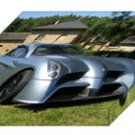 "Panoz Abruzzi Archival Canvas Car Print (Mounted) 16"" x 12"""