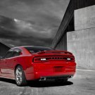 "Dodge Charger 2011 Archival Canvas Car Print (Rolled) 16"" x 12"""