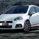 "Fiat Abarth Grande Punto Preview Archival Canvas Car Print (Rolled) 16"" x 12"""