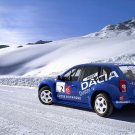 """Dacia Duster Competition Car Poster Print on 10 mil Archival Satin Paper 16"""" x 12"""""""