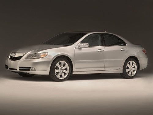 "Acura RL Car Poster Print on 10 mil Archival Satin Paper 16"" x 12"""