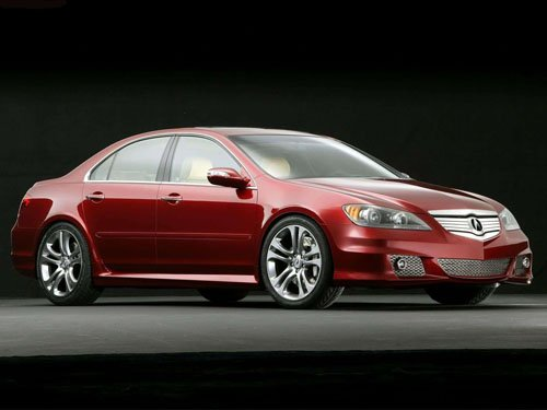 "Acura RL A-Spec Car Poster Print on 10 mil Archival Satin Paper 16"" x 12"""