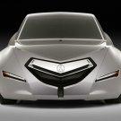 "Acura Advanced Sedan Car Poster Print on 10 mil Archival Satin Paper 16"" x 12"""