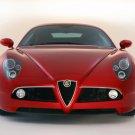 """Alfa Romeo 8C Competizione (2009) Concept Poster Print 16"""" x 12"""""""