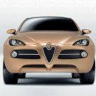 "Alfa Romeo Kamal Car Poster Print on 10 mil Archival Satin Paper 16"" x 12"""
