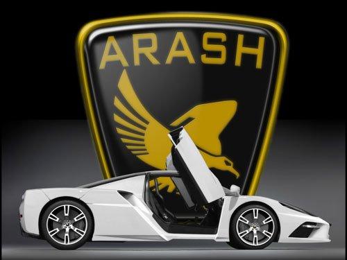 """Arash AF10 Concept Car Poster Print on 10 mil Archival Satin Paper 16"""" x 12"""""""