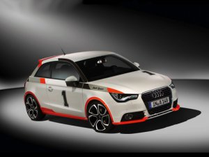 Audi A1 Worthersee Tour Competition Kit Car Poster Print on 10 mil Archival Satin Paper 16&quot; x 12&quot;