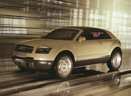 "Audi Steppenwolf Concept Car Poster Print on 10 mil Archival Satin Paper 16"" x 12"""