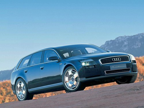 "Audi Avantissimo Concept Car Poster Print on 10 mil Archival Satin Paper 16"" x 12"""