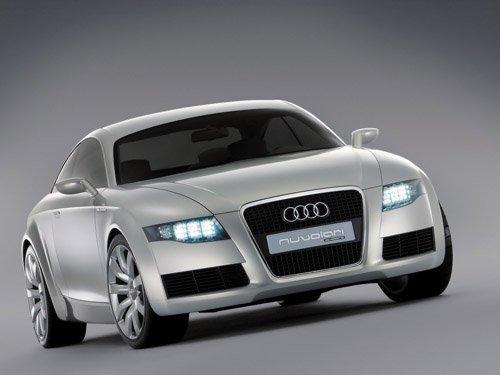 "Audi Nuvolari Quattro Concept Car Poster Print on 10 mil Archival Satin Paper 16"" x 12"""