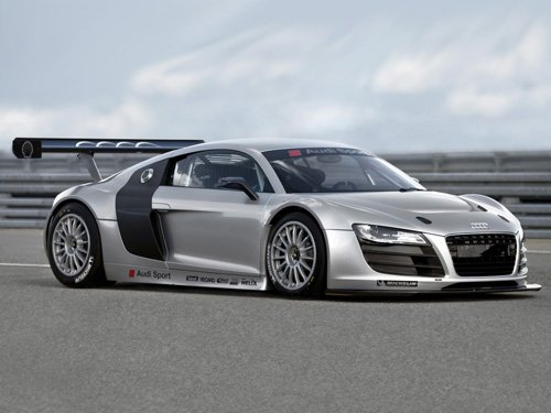 "Audi R8 GT3 Car Poster Print on 10 mil Archival Satin Paper 16"" x 12"""