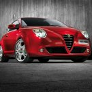 "Alfa Romeo Mi.To Car Poster Print on 10 mil Archival Satin Paper 20"" x 15"""