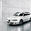 "Alfa Romeo 147 CNC Costume National Car Poster Print on 10 mil Archival Satin Paper 20"" x 15"""